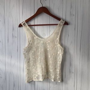{Urban Outfitters} kimchi blue sheer tank